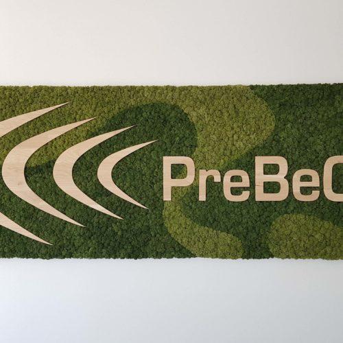 Moskader met logo Prebeco